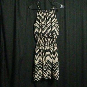 Chevron Pattern Dress